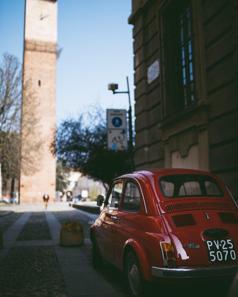Le Torri in Piazza L. Da Vinci a Pavia sono alcune delle superstiti